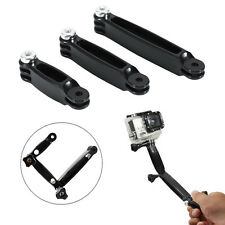 3 in 1 Extension Arm Pole Mount Set Accessory for Gopro Hero 2 3 3+ 4 Session
