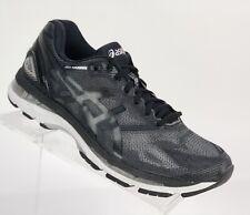 New! Asics Men's Gel-Nimbus 19 Running Shoes Size 8 Black Silver