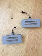 2 X BMW 3 series E92 Saloon / Coupe Interior Vanity Sunvisor Lights (grey)