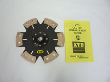 XTD STAGE 4 CERAMIC CLUTCH DISC fits IMPREZA /FORESTER/ LEGACY/ OUTBACK 2.5L