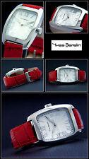 Unisex Reloj De Diseño Acero Inoxidable Pulido fácilmente LEGIBLE NUEVO romano