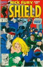 Nick Fury, Agent of shield # 32 (Guest: weapon Omega) (états-unis, 1992)