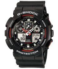 Casio GA-100-1A4 G-Shock Velocity Indicator Sports Black Resin Mens Watch GA100