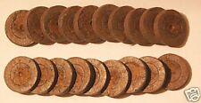 20 Stück  Jiffy-7 Torfquelltöpfe - 4cm Durchmesser