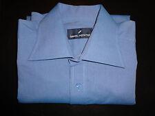 Men`s Brand New Daniel Hechter Casual Shirt  Colour Blue Size 15 M