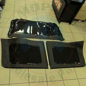JEEP Wrangler JK 4 door Black Tinted Soft Top Window Kit NEW OEM MOPAR
