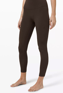 """LULULEMON *new with tags* Align 25"""" Pant 8 Women's Yoga Pants French Press Brown"""