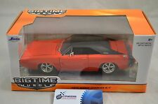 1:24 Bigtime Muscle 1970 Dodge Charger R/T in Red and Black