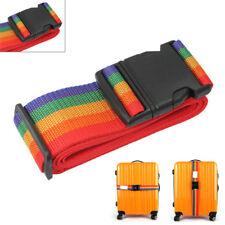 Adjustable Personalise Travel Luggage Suitcase Lock Safe Belt Strap Baggage TieG