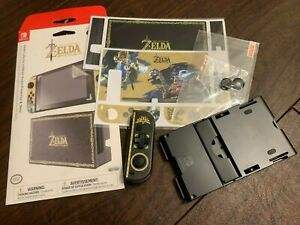 Nintendo Switch Legend of Zelda Breath of the Wild Stand Skins + Dpad Controller