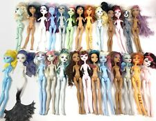 Monster High Doll Large Lot Of 26 For Ooak Customs Missing Arms No Hands