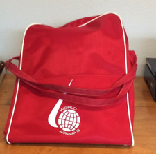 Vintage World Airways Airlines Over Night Vacation Flight Travel Bag Carry On