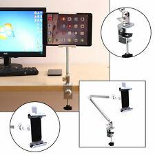 Verstellbar Halterung Handy Halter Tisch Bett Ständer für iPad Smartphone Tablet