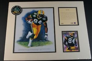 Sterling Sharpe - Green Bay Packers/Kelly Russell Studios Limited Edition #456