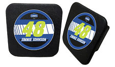 NASCAR #48 Jimmie Johnson Rubber Trailer Hitch Cover-NASCAR Hitch Cover