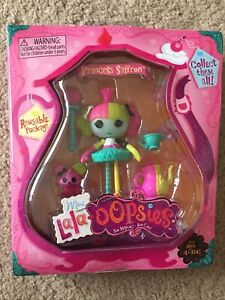NEW Lalaloopsy Minis Lalaoopsies Princess Saffron Doll Figure