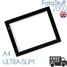 A4 LED Ultra Slim Light Box Dimmable Photographic 5600K Light Panel