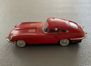 Vintage 1960's Ideal MOTORIFIC XK-E JAGUAR Red & Working