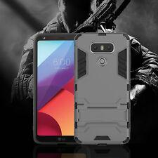 Slim Armor Shockproof Case Stand For LG G6 /G5 /G4 [Fits OtterBox & Spigen Clip]