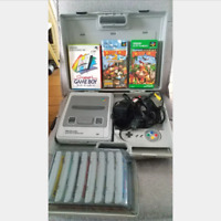 Nintendo NES Console and 10 Games(Super Mario, Donkey Kong and so on) Set F/S