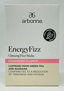 Arbonne EnergyFizz Ginseng Energy Fizz Sticks - Strawberry Flavor 30 Packs