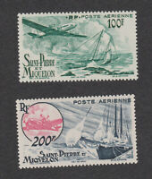 St. Pierre et Miquelon Sc# C16-C17 MLH OG short set Stamps French Colony