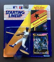 RUEBEN SIERRA 1992 Starting Lineup Figure Bonus Card /Poster Texas Rangers MLB