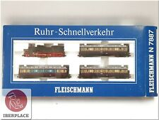 Et 1:160 Echelle Modélisme Locomotive Trains Wagons Fleischmann 7887 Train-Set <