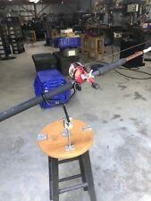 New item Single heavy duty adjustable Rodholder with 2 screw base Reel Fisherman