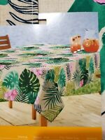 CELEBRATE TABLECLOTH INDOOR / OUTDOOR OBLONG UMBRELLA TABLECLOTH 60 IN.X 84 IN.