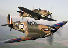 """Reproduction Vintage World War Poster, """"Spitfire"""", Home Wall Art, Size A2"""