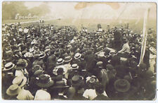 THORPE Surrey, Great Eviction Protest Meeting, RP Postcard c1910