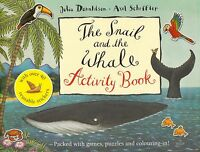 The Snail and the Whale Activity Book by Julia Donaldson BRAND NEW BOOK P/B 2008