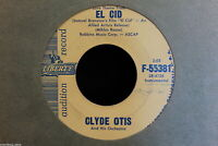 Clyde Otis May Your Blessings Be Many b/w El Cid 45-rpm Record