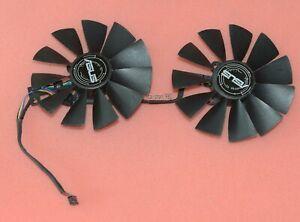 95mm Original ASUS STRIX GTX970 R9 380 Dual Fan 5Pin FD10015H12S T129215SU Q19