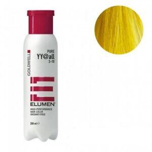 Goldwell Elumen Hair Color YY@ALL Yellow 6.7 oz / 200ml ammonia peroxide free