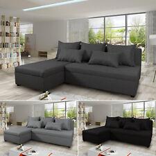 Ecksofa Pono mit Schlaffunktion - Couchgarnitur, Eckcouch, L-Form Couch
