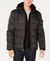 Calvin Klein Men's Hooded Down Puffer Coat Jacket, Black, Size XXL, $275, NwT