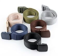 No Metal All Plastic Belt Allergy Free TSA Airport Security Detector Friendly