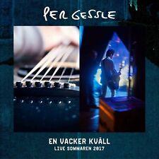 CD Per Gessle (Roxette) - En Vacker Kväll LIVE 2017, NEU NEW
