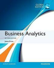 Business Analytics 2nd by James R. Evans (Paperback, 2016) ISBN:9781292095448