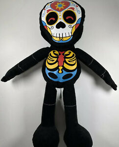 Fiesta Toys Dia De Los Muertos Skeleton Halloween Stuffed Day Of The Dead Plush