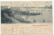 AK Postkarte Gruss aus Schmöckwitz Berlin Gasthof zur Palme Restaurant 1903