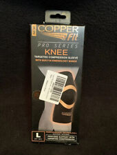Copper Fit Pro Series Targeted Compression Knee Sleeve New Open Box
