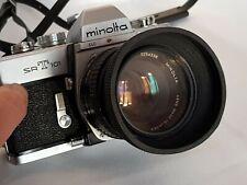 Appareil Photo Argentique Camera  Minolta SRT101 + Lens MC Rokkor-PF 50mm 1.7