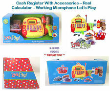 Registro di Cassa con Accessori -- CALCOLATRICE reale -- Working MICROFONO Let's Play