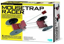 "TOYSMITH 4M 3779 KINETIC MOUSETRAP RACER KIT ""NO BATTERIES USES IT'S OWN POWER"""