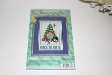 Janlynn Peace On Earth Counted Cross Stitch Christmas 1999 #157-80
