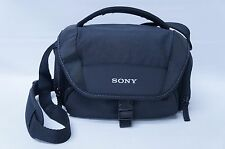 Sony LCS-U21 Soft Carrying Case - Black | GENUINE (52633)