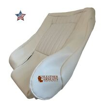 1996 Pontiac Firebird Trans Am Driver Bottom Synthetic Leather Seat Cover White